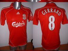 """Liverpool Adidas Gerrard Shirt Jersey Soccer Football Adult XL 46"""" England"""