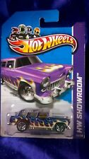 Hot Wheels Classic Nomad Purple With Flames HW Showroom 2013 Diecast