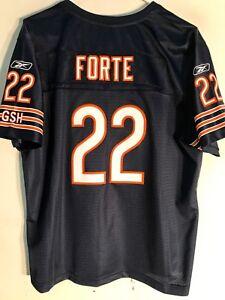 Reebok Women's Premier NFL Jersey Chicago Bears Matt Forte Navy sz 2X