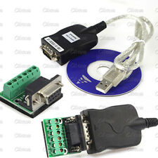 USB 2.0 To Interface RS-485 DB9 Serial Converter Adapter Cord Cable 80mm