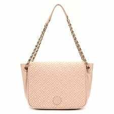 NEW  Tory Burch Marion Quilted Small Flap Shoulder Bag  495 Pale Apricot  Pink e7d3c7ab45be7