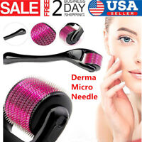 540 Needles Derma Micro Needle Titanium Roller Acne Scars Anti-aging Hair Loss