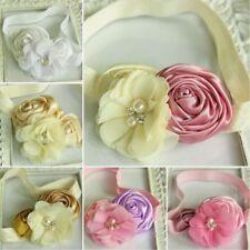Complementos de rosa de pelo para bebés