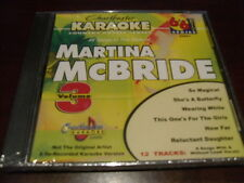 CHARTBUSTER 6+6 KARAOKE DISC 20561 MARTINA MCBRIDE VOL 3 CD+G COUNTRY MULTIPLEX