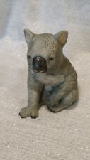 Vtg Australian Koala Bear Porcelain Figurine Statue Royal Heritage with Coa