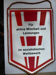 DDR Wimpel NVA, Für aktive Arbeit und Leistung im sozialistischen Wettbewerb