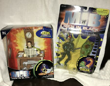 Men in Black Jeebs with Regenerating Heads Galoob & Alien Attack Edgar NIB 1997