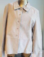 New Suede Ladies Jacket size 20 Joie de Vivre Matalan Beige women's jacket