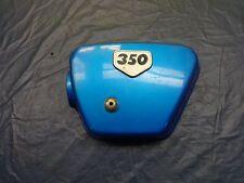Used Honda CB350 CB 350 Left Side Cover Blue PAS203+