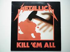Metallica 33Tours vinyle Kill'Em All