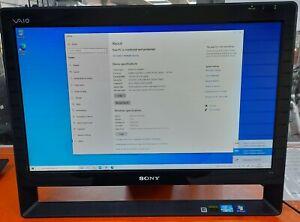 "SONY  PCG-11411M/J12 ALL-IN-ONE Intel CORE i3 4GB 500GB 21.5"" 1080HD TOUCHSCREEN"