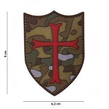 Crusader multi #19052 Patch Klett Abzeichen Airsoft Paintball Softair