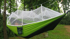 Double Person Travel Outdoor Camping Tent Hanging Hammocks Bed With Mosquito Net