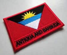 ANTIGUA AND BARBUDA ANTIGUAN BARBUDAN NATIONAL FLAG Sew on Patch Free Shipping