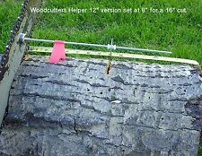 "Woodcutters Helper 12"" Adjustable Magnetic Firewood Measuring tool/stick"