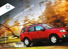2009 09 Mazda Tribute Original sales brochure MINT