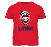 Ken Dryden Montreal Hockey Player Fear The Mask T Shirt