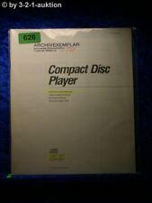 Sony Bedienungsanleitung CDP 397 / 297 CD Player  (#0626)