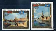 SENEGAL 1972 yvert 116/117 aériens n/dentelés, neufs**