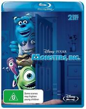 *Brand new & sealed movie* Monsters, Inc. (Blu-ray, 2010, 2-Disc Set)