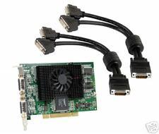 Matrox G450 Mms 128mb cuatro monitores PCI tarjeta de gráficos