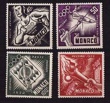 MONACO   poste aérienne  Jeux Olympique d' Helsinki   num: 51/54  **