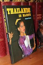 Jacques Stevens TAHILANDE EN MAJESTE Beau livre photos relié