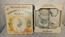 Vintage Wedgwood Child's Peter Rabbit Tea Set Boxed