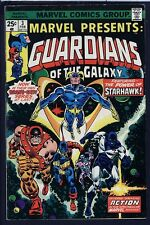 Marvel Presents 3 4 5 6 GUARDIANS OF THE GALAXY NM Signed 1st Nikki SOLO GOG `76