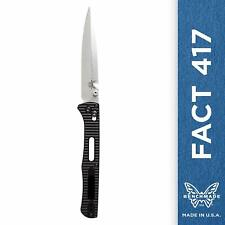 Benchmade Fact 417 First Production 77 of 1200
