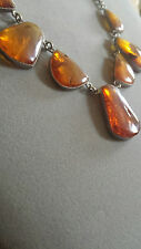 Natural Vintage Baltic Amber Necklace Honey Cognac from Latvia