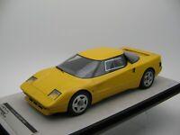 1/18 scale Tecnomodel Ferrari 408 4RM 1987 Yellow Mondena code TM18-104B
