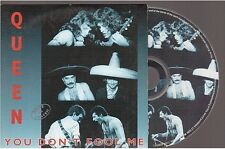 QUEEN you don't fool me CD SINGLE card sleeve