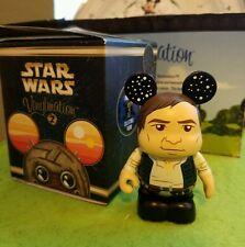 "Disney Vinylmation 3"" Park Set 2 Star Wars Han Solo with Box"