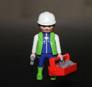 Playmobil vie quotidienne chef de chantier 4053 3277 3001