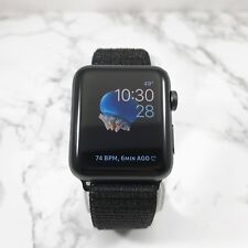 3f0783ce43c Apple Watch Series 3 42mm Space Gray Aluminium Case GPS Cellular Obsidian  Loop