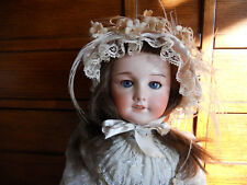 "Stunning antique SFBJ 301 French doll (#9)  About 22"" tall with sleepy blue eyes"