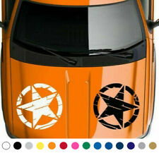 US USA American Army Military 5 Point Star Graphic Vinyl Decal Sticker V16