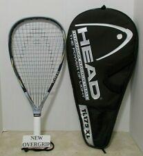 Head Ti.175 XL Racquetball Racquet 3 5/8 + NEW OVERGRIP - EUC
