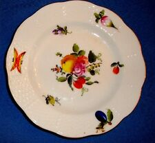 "Herend 6.5"" Salad/Sweets Plate in Fruits & Flowers Motif #516/BFR     I-12"