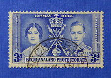 1937 BECHUANALAND PROTECTORATE 3d SCOTT# 123 S.G.# 117 USED              CS20647