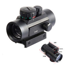 Tactical Holographic Sight Green Red Dot Sight Scope 1x40mm Cross RiflescopG9D