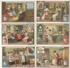 Chromo Liebig Sang. 935 ITA Lavori Femminili ANNO 1908
