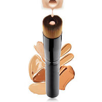 Pocket Makeup Wooden Soft Liquid Face Powder Blush Contour Foundation Brush Tool