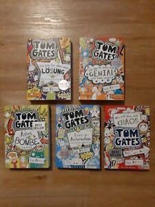 Tom Gates Bücher 1- 5 wie neu