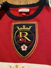 NEW Mitchell & Ness REAL SALT LAKE Men's Large Soccer Jersey/Sweatshirt