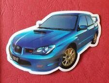 "Sticker Decal "" Blue Car "" Gloss-Optics Stickerbomb Skateboard Laptop"
