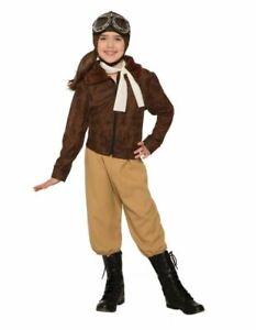 Forum Novelties - Amelia Earhart/Aviator Girl's Costume