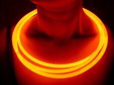 """500 22"""" SUPERIOR ORANGE Glow Necklaces Bulk Wholesale w/ FREE 300 Glow Bracelets"""