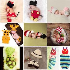 Fotoshooting Baby Fotografie Strick Mütze Kostüm Häkelkostüm Neugeborenen Set